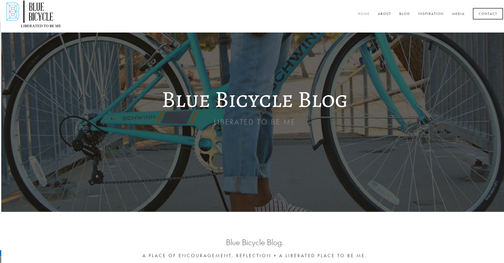 Blue Bicycle Blog