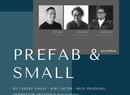 Sharing session on prefab and small architecture