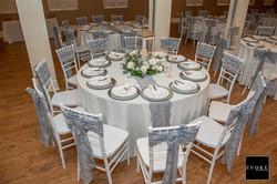 Lodge table set up