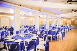 Lodge Reception Hall in Blue