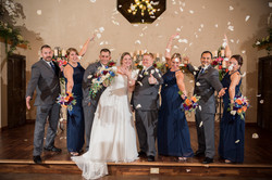 Bridal Party in Chapel