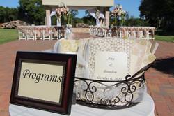 Programs for Lakeside Ceremony