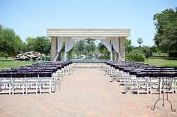 Lakeside Ceremony in Purple
