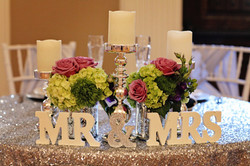 Sweetheart Table in The Lodge