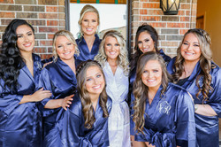 Getting ready! Bridal party