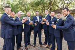 Cheers! Groomsmen