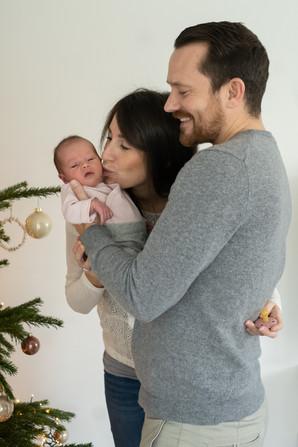 die ersten Familienfotos