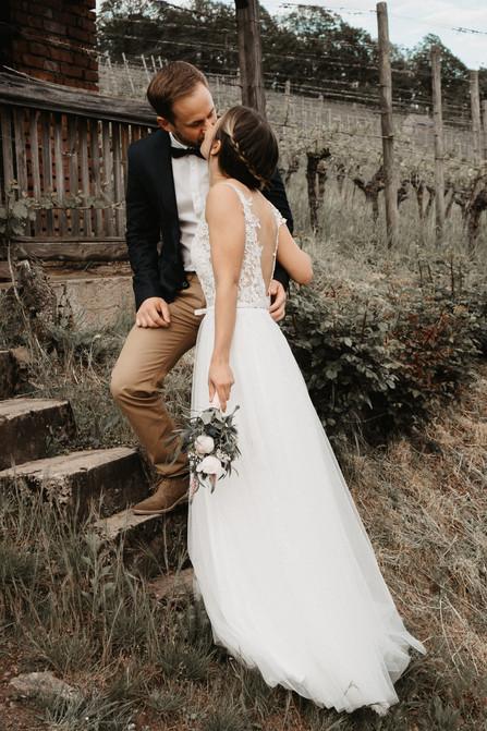 Boho Wedding in den Michelbacher Weinbergen