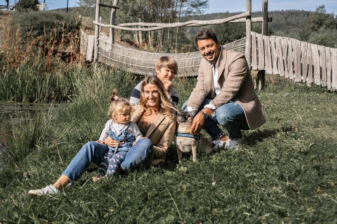 Familienbilder mit Hund