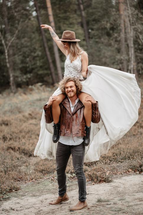 außergewöhnliche Hochzeitsfotos