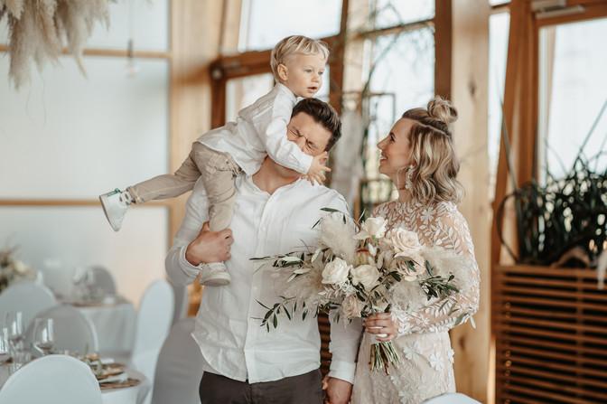 authentische Familien