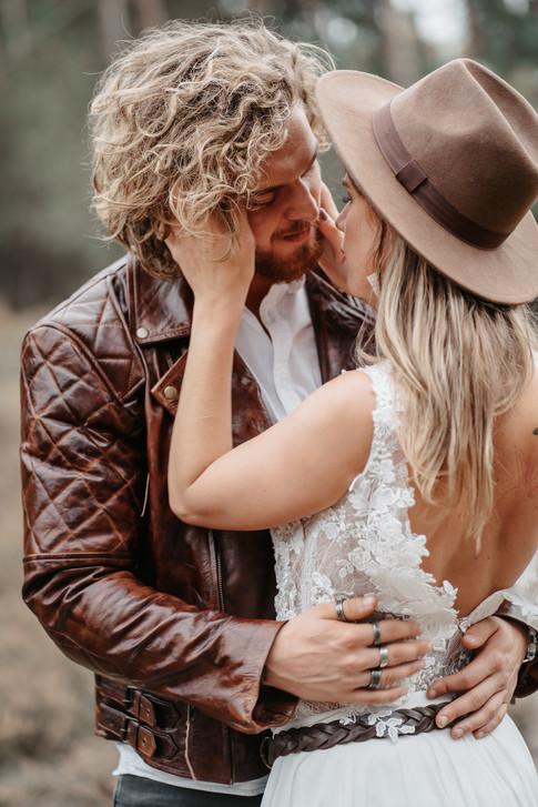 innige Hochzeitsfotos