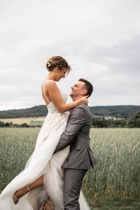 bewegende Hochzeitsfotos