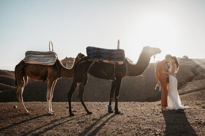 Wüsten Shooting in Marrakesch