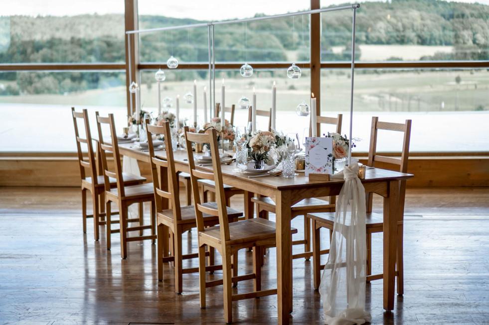 Hochzeitstisch Heckers Restaurant