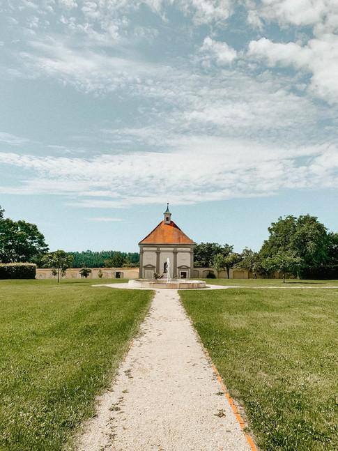 Gartenanlage Kloster Holzen