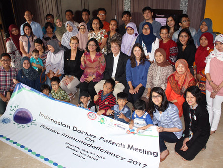 Pertemuan organisasi pasien Imunodefisiensi Primer Indonesia - Malaysia - Filipina