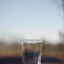 三本線のグラス