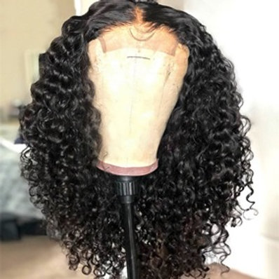 Grade 10A Kinky Curly Human Hair 5x5 Invisible HD Lace Wigs 180% Densi
