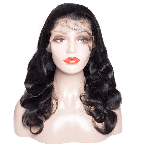 360 Lace Frontal Wig Pre Plucked With Baby Hair Remy Brazilian Body Wave