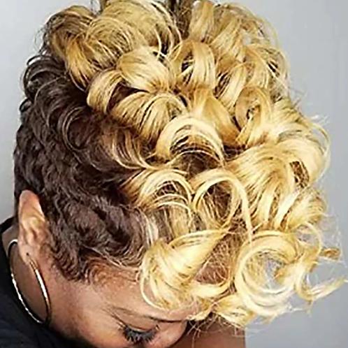Short CurlySynthetic Wig - Ombre