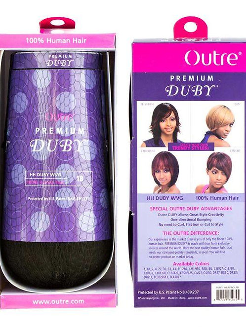 """DUBY 8"""" Premium Human Weave Hair By Outre"""