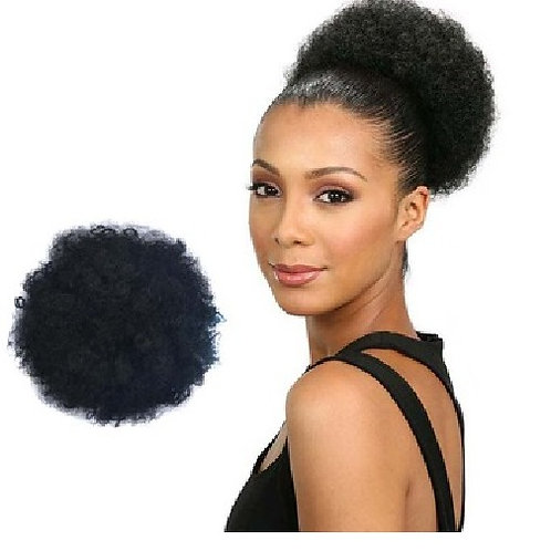 Afro Kinky Curly Synthetic Puff Bun Ponytail