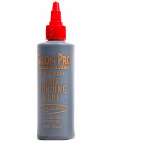 Salon Pro Anti Fungus Hair Bonding Glue 4 oz Black