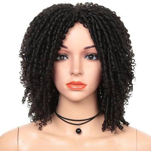 Crochet Dreadlocks Synthetic Hair Wig Heat Resistant Fiber