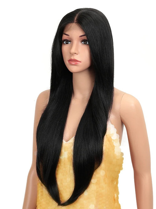 Long Lace Front Wig straight