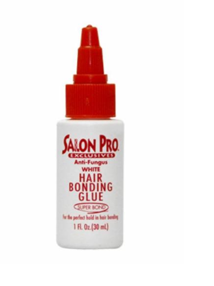 Salon Pro Hair Bonding Glue 1 oz White
