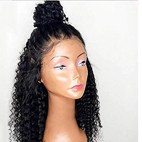 Kinky Curly Lace Front 150% Density Wig Heat Resistant Fiber