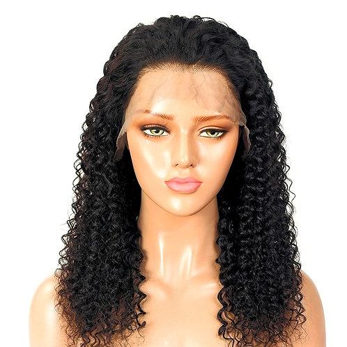 Grade 10A 360 Kinky Curly 150% Density Brazilian Wig