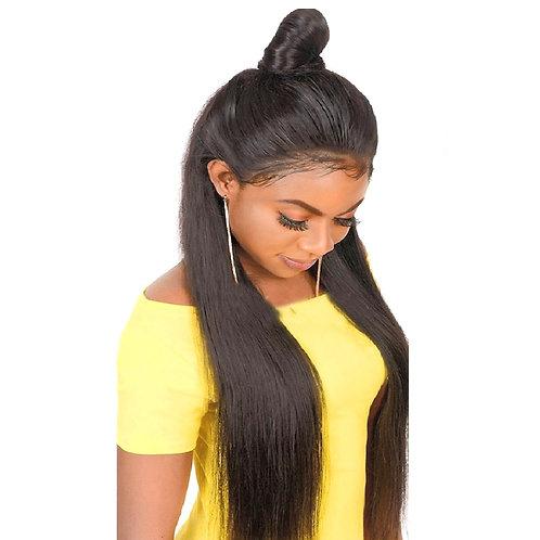 Grade 10A Full Lace Straight 150% Density Brazilian Wig