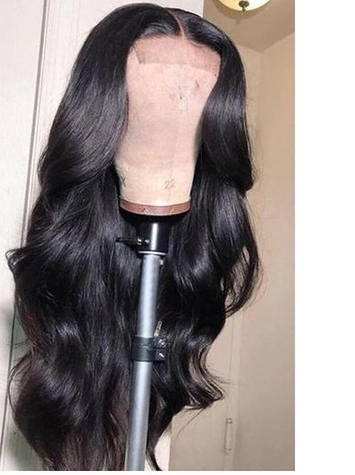 Grade 10A Body Wave Human Hair 5x5 Invisible HD Lace180% Density Wig