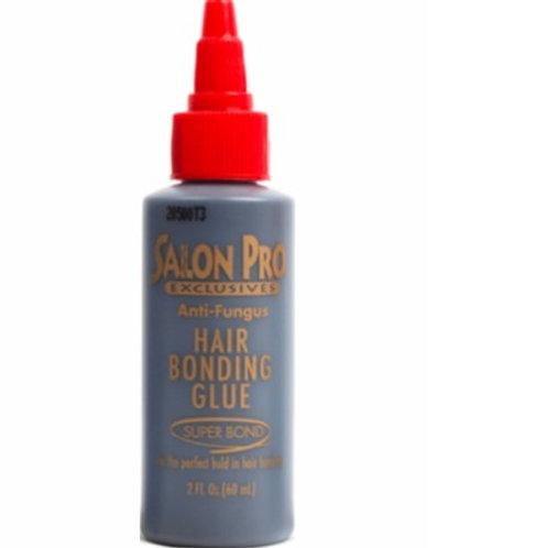 Salon Pro Anti Fungus Hair Bonding Glue 2 oz Black