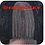 Thumbnail: Kinky Straight  Middle Part Lace 150% Density Synthetic Wig Heat Resistant Fiber