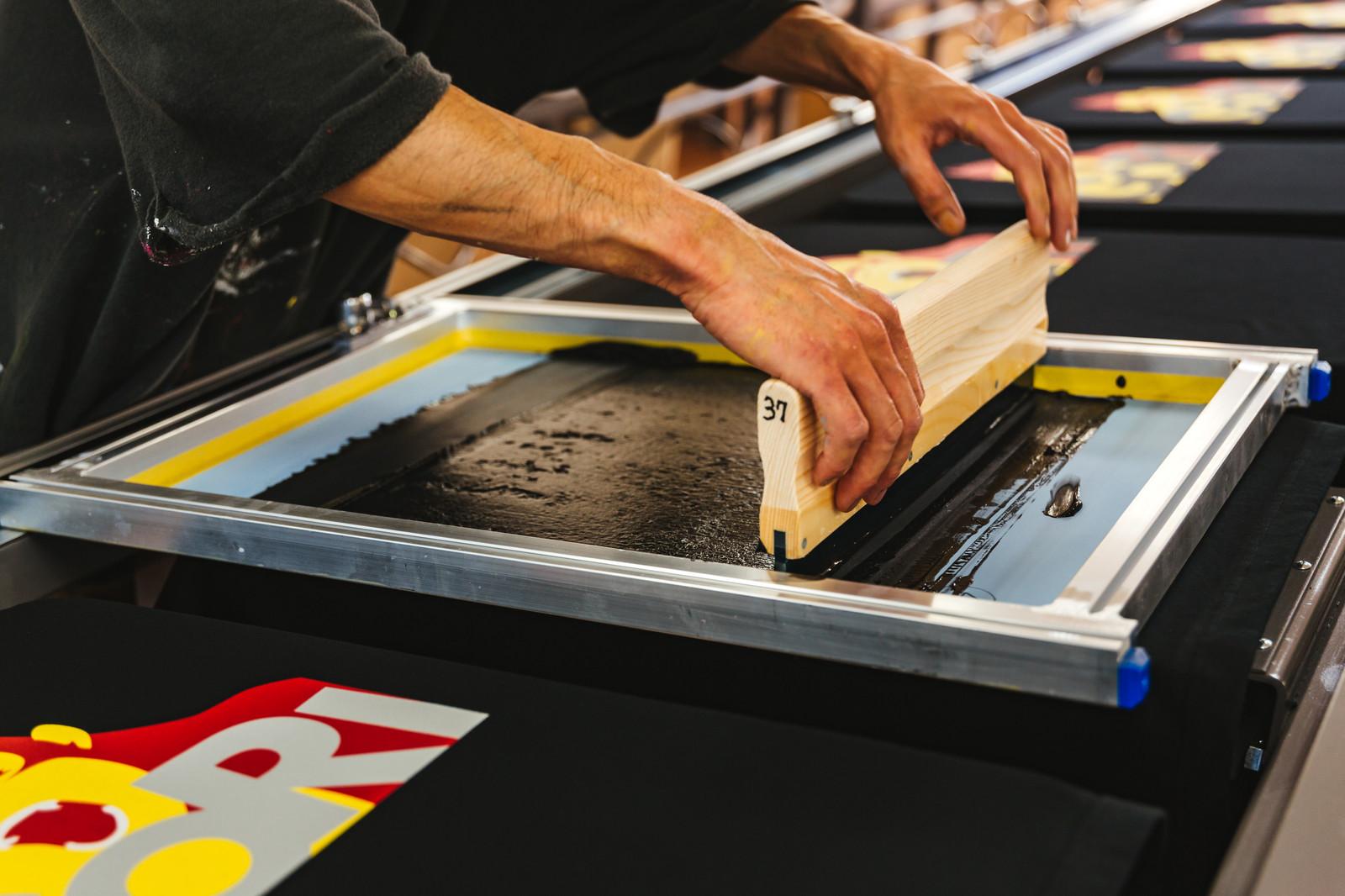 スクリーン印刷