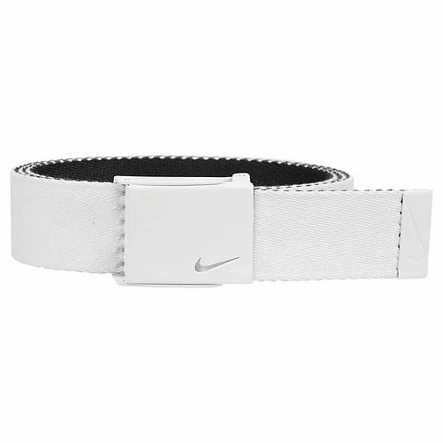 Nike Tech Essentials Webbing Belt, White/Black