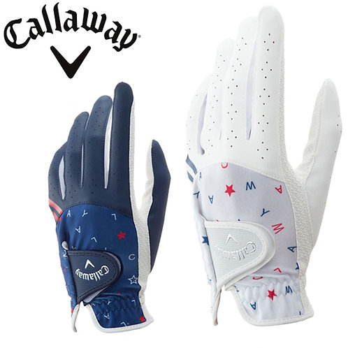 Callaway Golf Japan Exclusive Chev Dual Women's Golf Gloves, Assorted Colors