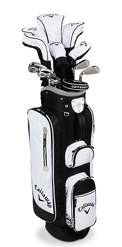 Callaway Golf Women's Solaire Complete Set, Right Hand, Black