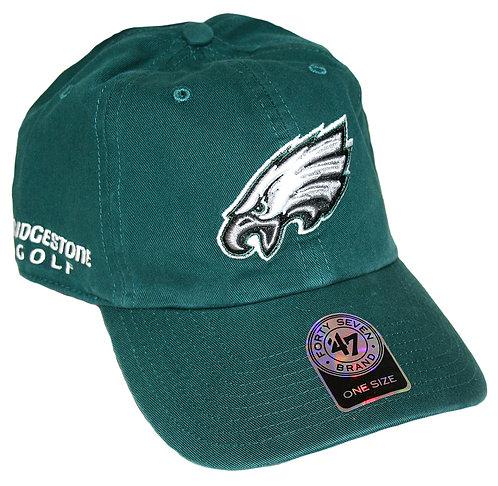 Bridgestone Golf '47 NFL Adjustable Cap Hat, Philadelphia Eagles
