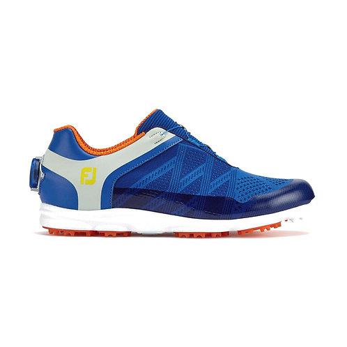 FootJoy Women's Sport SL BOA Golf Shoes, Blue/Light Grey