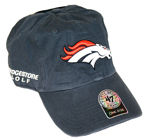 Bridgestone Golf '47 NFL Adjustable Cap Hat, Denver Broncos