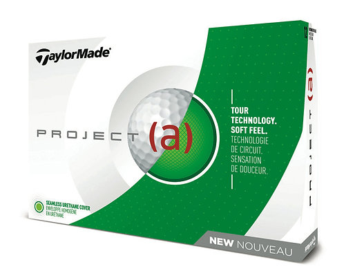 TaylorMade Project A Golf Balls, Pack of 12, White