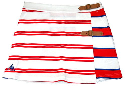 Le Coq Sportif Women's Border Culotte Wrap Skirt