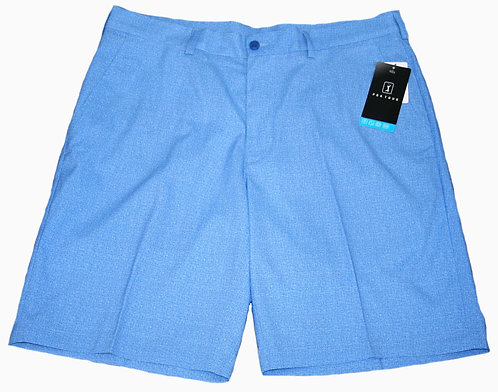 PGA TOUR Performance Gear Flat Front Heather Printed Short, Men's, Princess Blue