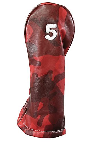 Iliac THE VINTAGE TWO Head Covers, British Red Camo