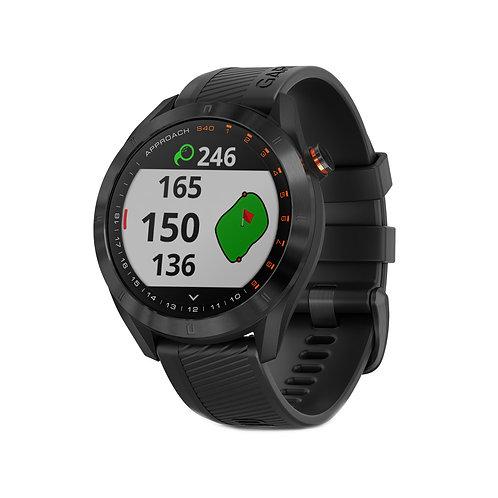 Garmin Approach S40 GPS Golf Watch, Premium Black