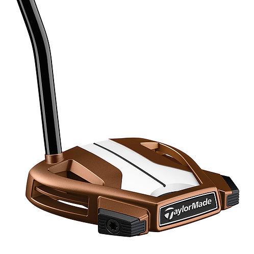 TaylorMade Spider X Copper/White, Single Bend Design, Golf Putter